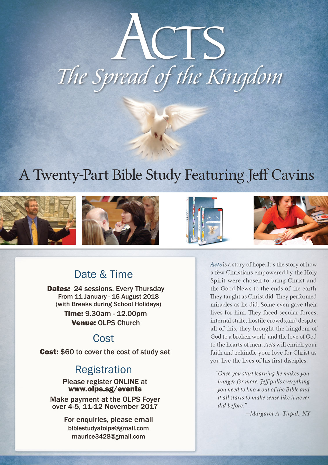 Acts The Spread Of The Kingdom Bible Study Church Of